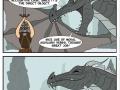 Poor nerd dragon