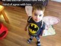 Batman with wings