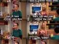 Sheldon has his ways