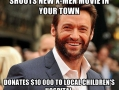 Good Guy Hugh Jackman
