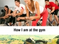 I went to the gym once