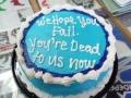 Co-Worker Goodbye Cake