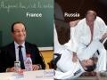 France Vs. Russia