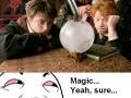 Sure, it's magic!