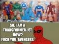 Poor Spiderman