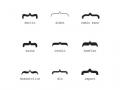 Typography Moustache