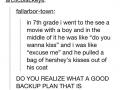Ingenious backup plan