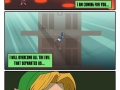 Link's on his way