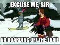 Snowboarding Bender