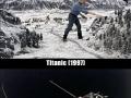 Behind movie scenes