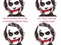 Joker's words