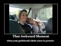 That awkward moment...