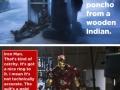 Tony Stark's witty remarks