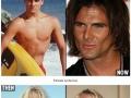 Teen stars now & then