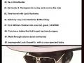 The Geek Bucket List