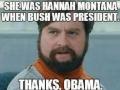 It's always Obama's fault