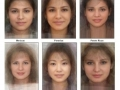 Average woman's face
