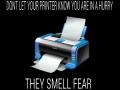 Evil printer