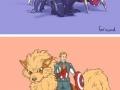 Avengers' Pokemons