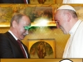 The Pope met Putin