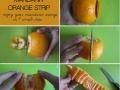 Easy way to peel oranges