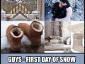 Winter: Boy vs Girls