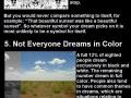 Amazing dream facts