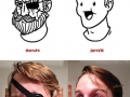 Shaving off your manhood