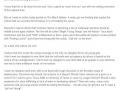 A letter to Victoria Secret