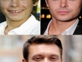 Celebs now and then