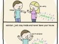 Avoid any awkwardness