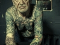Epic tattoos on elderly