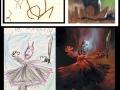 Kids realistic drawings