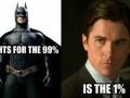 Batman is the man
