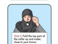 How to make a ninja mask