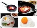 The sunnyside of eggs