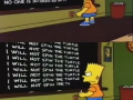 Chalkboard punishment