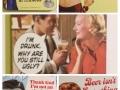 Vintage alcohol slogans