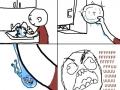 Washing dishes rage