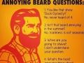Sums up having a beard
