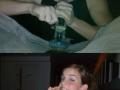 The drunk trio