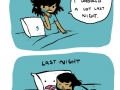What actually overnight