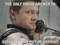 Real Archer Hawkeye