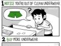 Who needs underwear?