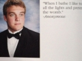 Epic yearbook quote