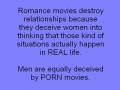 We are deceived by movies