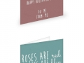 V day cards for yourself