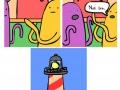 It's a lighthouse