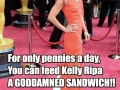 Please feed Kelly Ripa