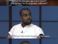 Sound insight from Kanye